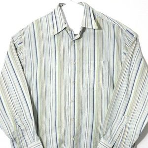 Van Heusen Mens Long Sleeve Button Down Shirt